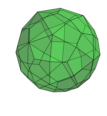 Deltoidal hexecontahedron, daaltlP6