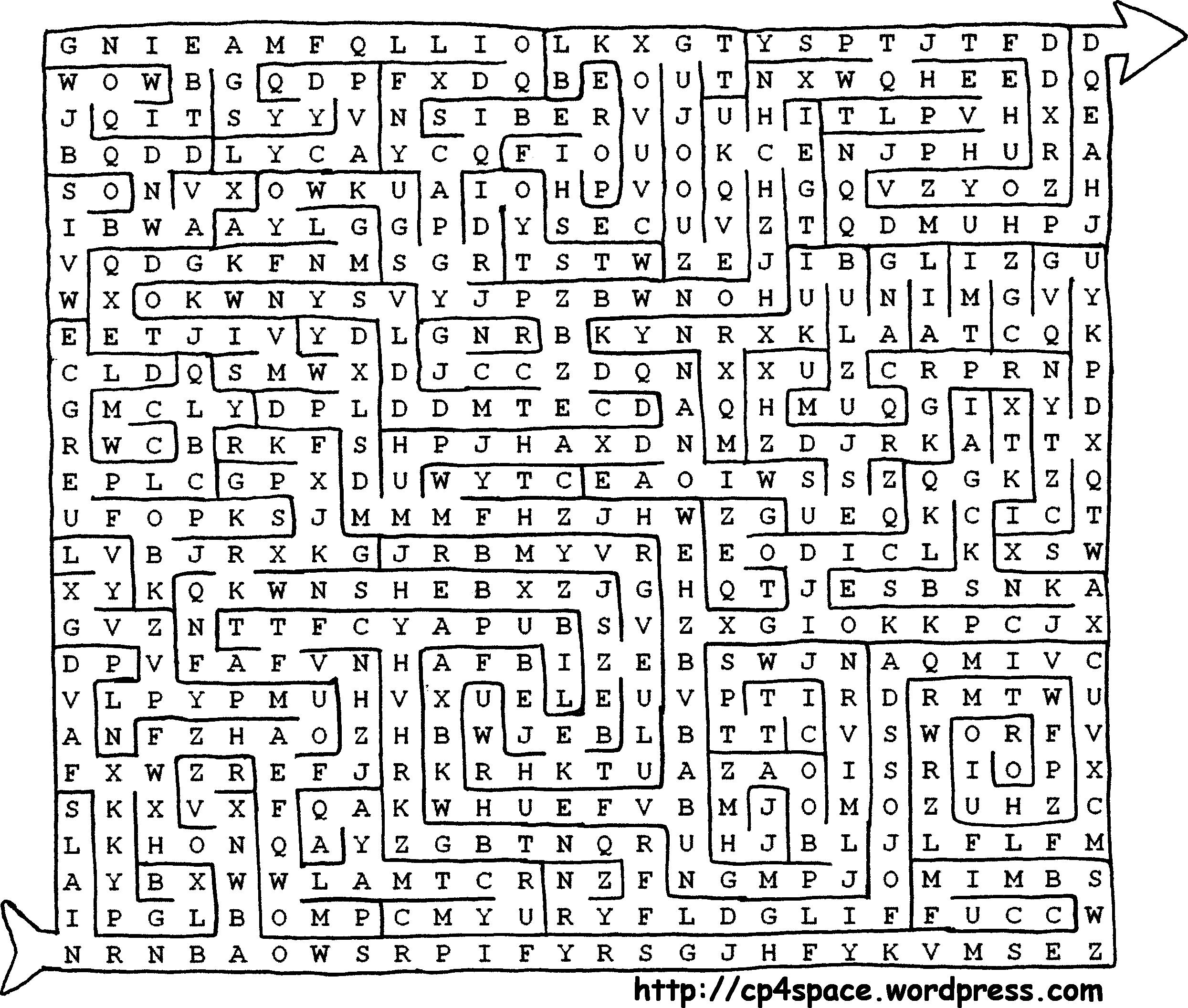 Uncategorized Most Difficult Maze cipher 2 labyrinth complex projective 4 space the maze cipher